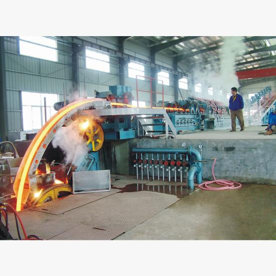 copper rod continuous casting machine